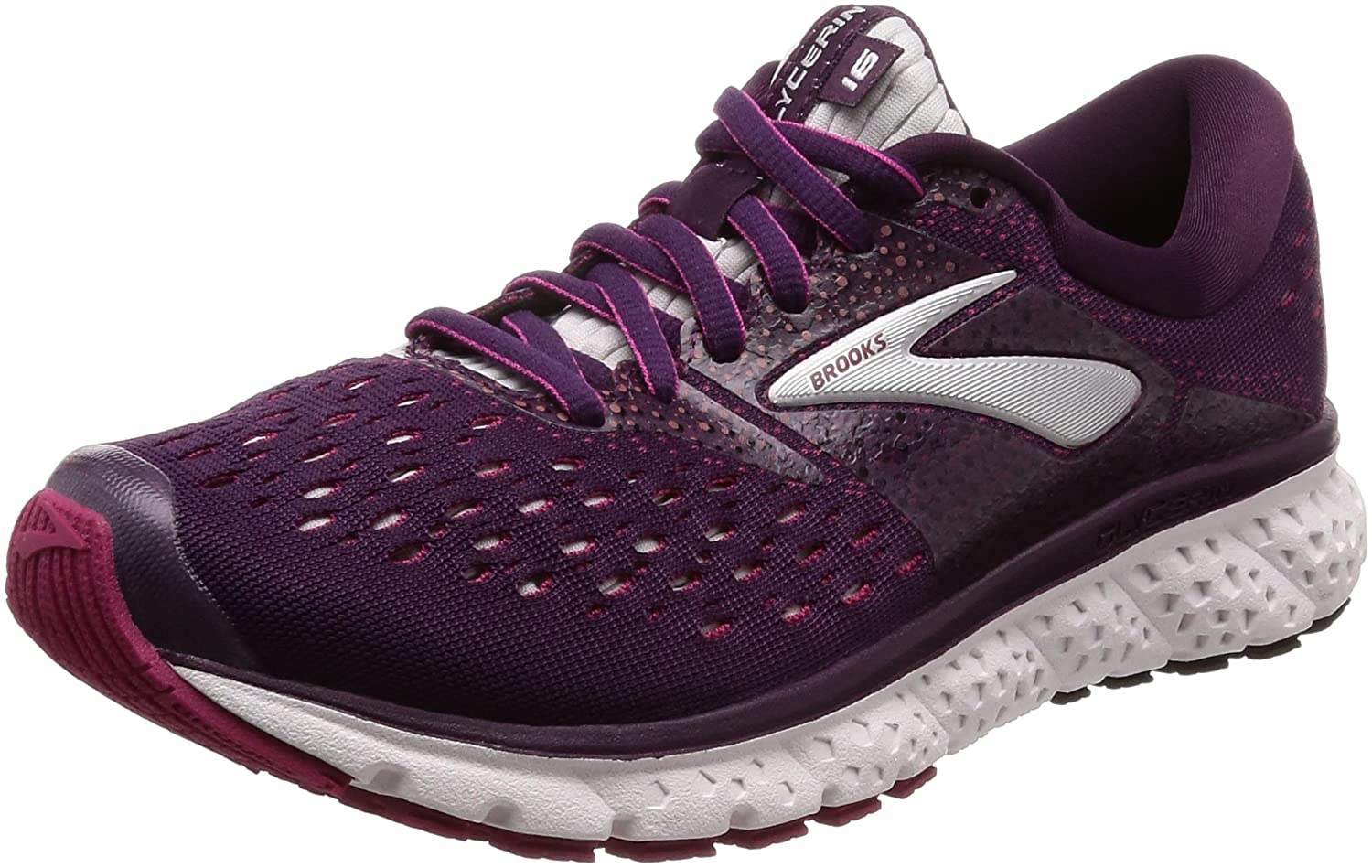 Top 5 Best Tennis Shoes for Back Pain Women's in 2020   Brooks Glycerin 16